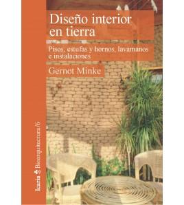 Diseño interior en tierra. Pisos, estufas y hornos, lavamanos e instalaciones
