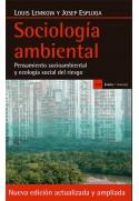 Sociología ambiental. Pensamiento socioambiental y ecología social del riesgo. Edición ampliada