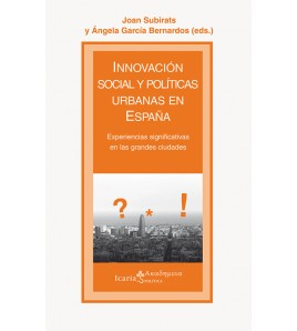 Innovacion social y políticas urbanas en España